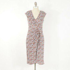 Nanette Lepore Dainty Floral Print Jersey Dress